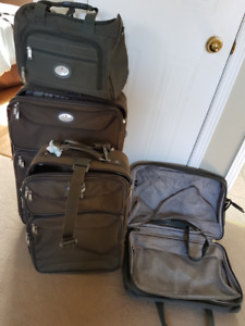 Air Canada 4 piece Luggage set