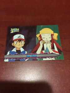 Topps Pokemon 2000 movie Animation Card # 61 Foil RARE The Flute