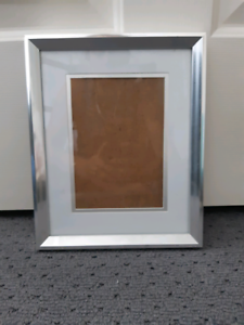 3X SILVER PHOTO FRAMES Barrack Heights Shellharbour Area Preview