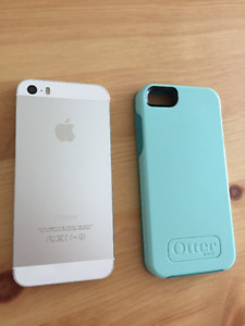 Unlocked silver iPhone 5s 16GB for sale