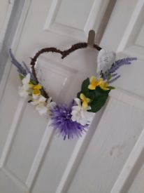 Fathers day memorial wreath