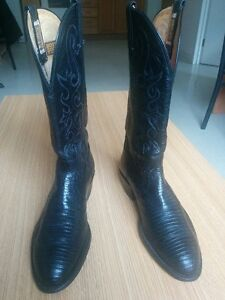 Men's all Leather Cowboy Boots Like New Kitchener / Waterloo Kitchener Area image 4