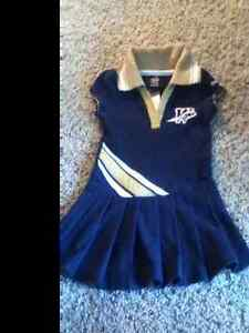 Size 12mths baby girls blue bombers