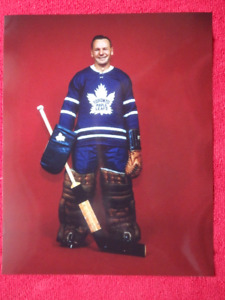JOHNNY BOWER Toronto Maple Leafs Unsigned 8 x 10 Photo