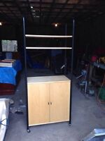 Bakers Rack / Tv stand/ shelving unit