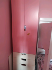 Wardrobe and cabinet