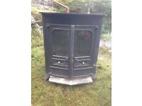 Wood burning stove 10w