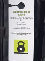 Bootcamp Fitness $5/session