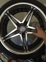 Original Mercedes benz 19 inch mags