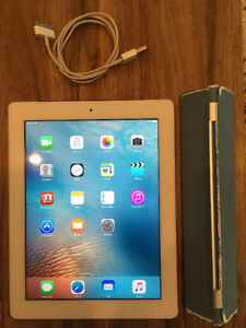 iPad - 32GB - WiFi + Cellular - Smart Cover (3rd Generation)