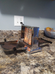 Antique Vintage Toaster Stainless Steel