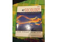 A2 sociology AQA