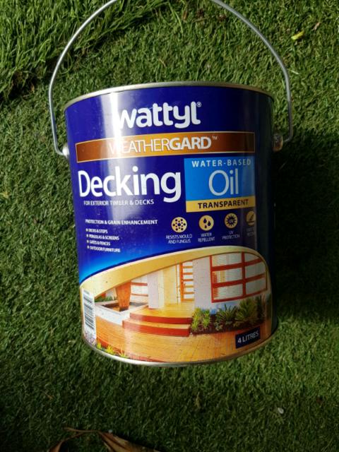 Wattyl decking oil bunnings stihl leaf blower backpack