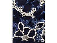 Quiz Blue sequin dress