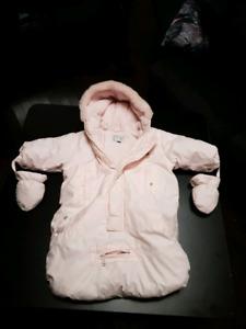 Manteau d hiver bebe fille