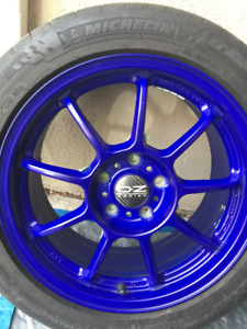 "(4) 17"" Volkswagen Golf & Rabbit & Jetta wheels with tires"