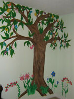 Wall Murals - artist for hire