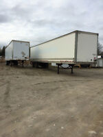 53' Storage trailers for rent or sale