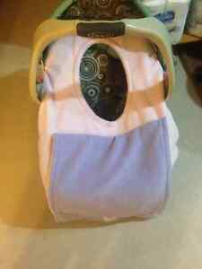 Soft Pink Infant car seat cover -$8