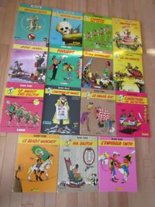 15 bandes dessinées Lucky Luke en lot ou à l'unité