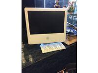 Old school mac desktop pc