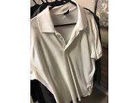 Men's white hugo boss Large tshirt