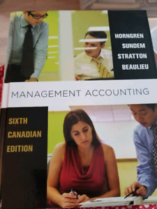 Management Accounting.