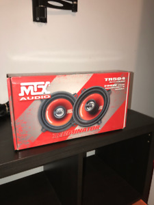 "New! MTX TR504 Terminator Red 5.25"" 2-Way Coaxial Car Speaker"