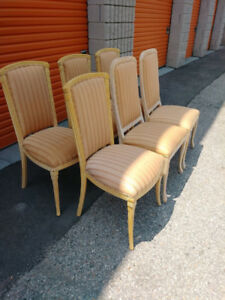 Set of Six Dining Chairs + Free Delivery