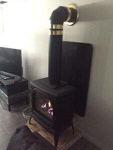 Beautiful Gas Fire place for sale - Dovre 400 Quadra Stratford Kitchener Area image 4