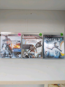 Ps3 games $10 each or 3 for $25.