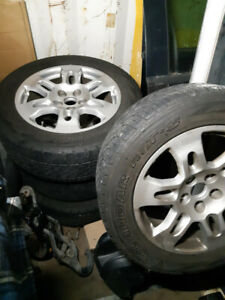 Acura MDX rims and tires