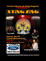 Sting Zing Comedy Night Fundraiser for Central AB Sting Finland
