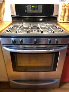Kenmore Stainless 5 Burner Gas Convection Range For Sale Cobourg