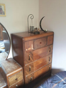 ***REDUCED PRICE*** Antique dresser and make-up table