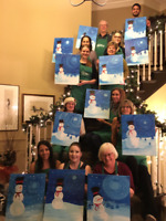 Paint Party or Paint Night
