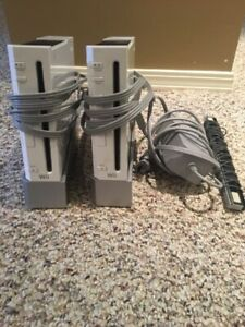 Two Wii consoles