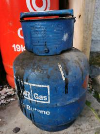 Gas bottle 4.5kg butane x2