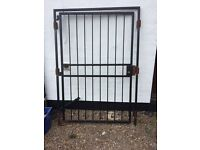 Extra wide security gate