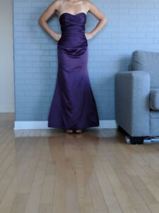 Beautiful Eggplant Dress
