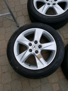 "17"" Acura TSX wheels  Michelin 225/50R17"