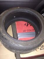 Continental 245/40 R17 only one tire available