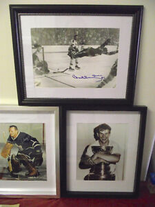 2 Bobby Orr 1 Signed Photo 1970 Stanley Cup Flying Goal COA