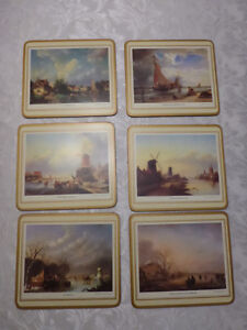 Pimpernel Placemats and Coasters - New in Boxes