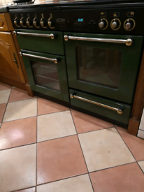 Rangemaster 110 Double Oven and Hob