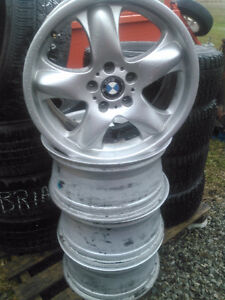 """BMW X5 rims 18""""...$300 great for winter use $300"""