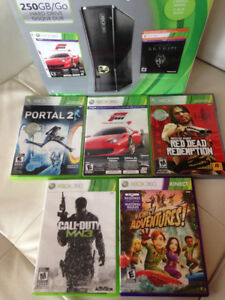 Xbox 360 + Kinect + Jeux