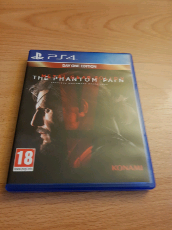 METAL GEAR SOLID THE PHANTOM PAIN PS4 GAME | in Salford, Manchester |  Gumtree