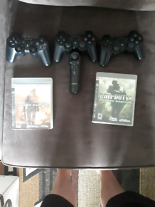 Ps3 accessories plus games