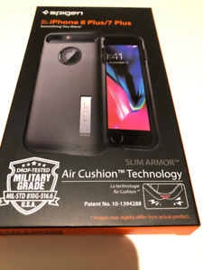 Spigen Slim Armor case for iPhone 8 Plus or 7 Plus - NEW IN BOX